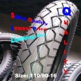 Recambios de la motocicleta, neumático antideslizante 90/90-17, 110/90-17, 130/80-17, 80/90-17, 90/80-17, 80/80-17, 60/80-17, 70/80-17 del triciclo del motor del neumático de la motocicleta