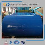 Bobina de aço revestida colorida de Dx51d pelo fabricante superior de China