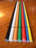ТеплостойкfNs стеклоткань штанга качества, GRP/FRP Rod&Bar