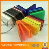 Scheda di plastica dell'acrilico di colore del perspex dello strato del plexiglass di PMMA