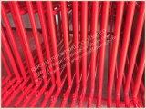Frames van de Steiger van het Type van Slot van het Riet van het suikergoed de Poeder Met een laag bedekte