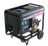 Yarmax AC単一フェーズ7kVAのディーゼル電気の発電機の値段表