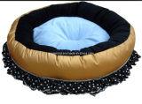 Blumen-Auslegung-hochwertigeres Haustier-rundes Bett