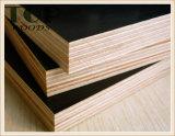 la película impermeable negra de Famework Brown de la base de la madera dura de la alta calidad de 12/15/18/20/21m m hizo frente a la madera contrachapada Shuttering concreta