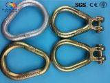 Покрашенное кольцо формы груши Clevis ковкой стали
