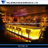 판매 나이트 클럽을%s 아크릴 바 가구/LED 바 카운터를 위한 Tw 대중음식점 바 상단