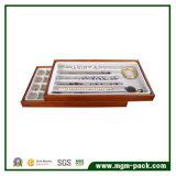 2017 подгонянная коробка ювелирных изделий бумаги печати