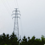 башня решетки передачи силы 35kv с двойной цепью