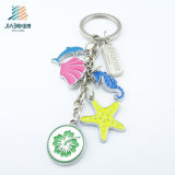 Jiaho Custom Design Medal Sea World Key Key Holder