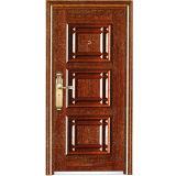 中国からの新しいデザイン良質の冷間圧延された鋼鉄安全金属の鉄のドア