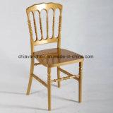 Os banquetes cancelam cadeiras transparentes de Napoleon da resina de Plexi