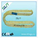 6:1 van de Factor van de Veiligheid van de Slinger van de Polyester van 3t*10m het Eindeloze Ronde