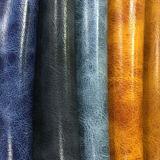 Cuir métallisé résistant de sofa de PVC d'abrasion élevée en gros de la Chine