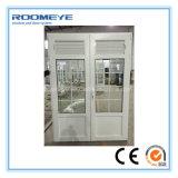 Roomeye Casement 2 faixas com divisão decorativa PVC / UPVC Door PVC Casement Door