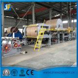 1575 machines de fabrication de papier de carton, chaîne de production de papier ondulé de Papier d'emballage avec 6t/D