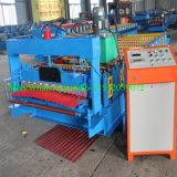 Perfil de onda automático de Aluzinc que telha o rolo corrugado que dá forma à máquina