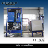 Macchina di ghiaccio del tubo di norma alimentare 5t di Focusun