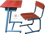 Fabricante escritorio y silla fijos de Furnitue de la escuela de solos