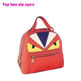 Backpack 2016 PU кожаный сердитое Birld Eyes красный Backpack