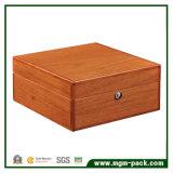 Подгонянная коробка вахты Bamboo упаковки деревянная