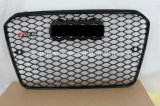 """Черный автомобиль Передняя решетка для Audi RS5 2013 """""""