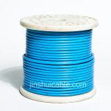 Fio flexível isolado PVC de cobre do condutor rv