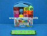 Brinquedos educacionais engraçados quentes, bloco plástico de Buklding dos brinquedos do bebê DIY (885368)