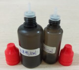 Childproof CapおよびSlender TIPとのISO9001 BlackのPE E-Liquid Bottle