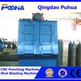 Machine de grenaillage de courroie de dégringolade pour des ressorts et des boulons de nettoyage
