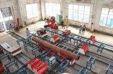 Tipo línea del taller de la fabricación de la pipa