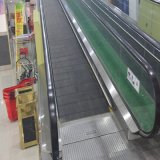 0~12&deg ; Promenade mobile pour le centre commercial de supermarché