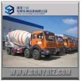 16 Cubic Beiben 8X4 Concrete Mixer Truck