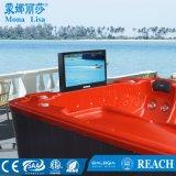 Vasca esterna della STAZIONE TERMALE di massaggio delle 6 genti idro con il grande salotto (M-3359)