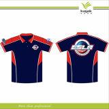 Nouvelle usine de chemise de polo de polyester de golf de mode de conception (F212)