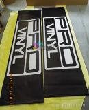 Bandiera di pubblicità su ordine di Scrolling della mano con stampa