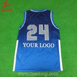 Basquetebol Jersey do clube da equipe da faculdade do Sublimation de Healong