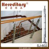 Cavo moderno dell'inferriata per l'acciaio inossidabile della scala ss 304# (SJ-S-059)
