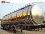 De lichtgewicht Tanker van het Aluminium van de Aanhangwagen van de Tanker van de Brandstof