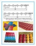 Belüftung-Dach-Blatt, das Maschinen-Pflanzenextruder-Produktions-Maschinen-Strangpresßling-Zeile bildet