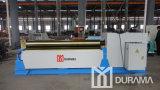 Machine de roulement symétrique de trois rouleaux/machine à cintrer/machine à cintrer de plaque/machine de roulement mécanique