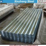 0.14mm гальванизированные листы стального материала Corrugated стальные настилая крышу лист