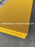Решетка GRP/FRP, стеклоткань отлила решетку в форму