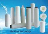 De pp Gesponnen Geblazen Filter van pp Smelting 1 tot 2 0micron