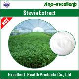 Pó natural do extrato do Stevia do edulcorante