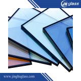 стекло 8mm+12A+8mm синее отражательное изолированное