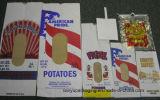 Bolsa de papel desigual asada a la parilla del bolso de Kraft de carne de vaca
