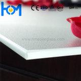 3.2mm moderou vidro solar branco super revestido para o painel solar