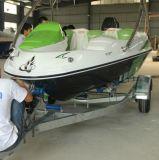 Barcos superventas del movimiento 90HP FRP de la relación de transformación 2 del precio del alto rendimiento