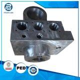 O OEM presta serviços de manutenção à elevada precisão que forja a válvula hidráulica do bloco
