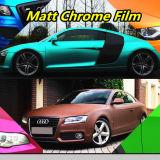 無光沢の金属クロム車の覆いのビニールを包む車のためのスマートな車のビニールの覆いのビニールのフィルム